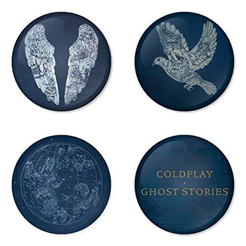 COLDPLAY round badges 1.75 Pinback