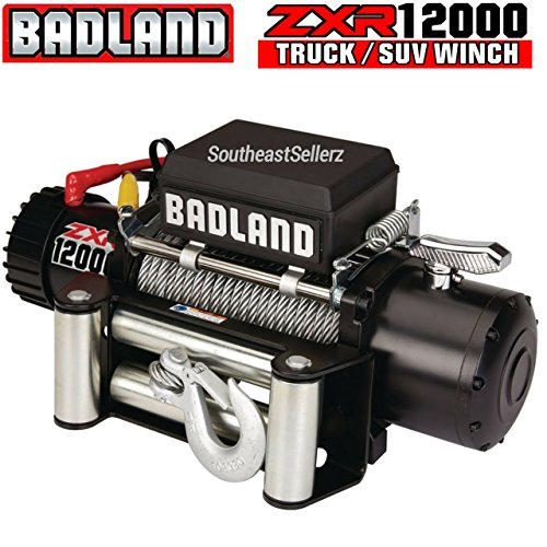 Best 12000 lb Winches: Warn vs. Smittybilt vs. Badlands on
