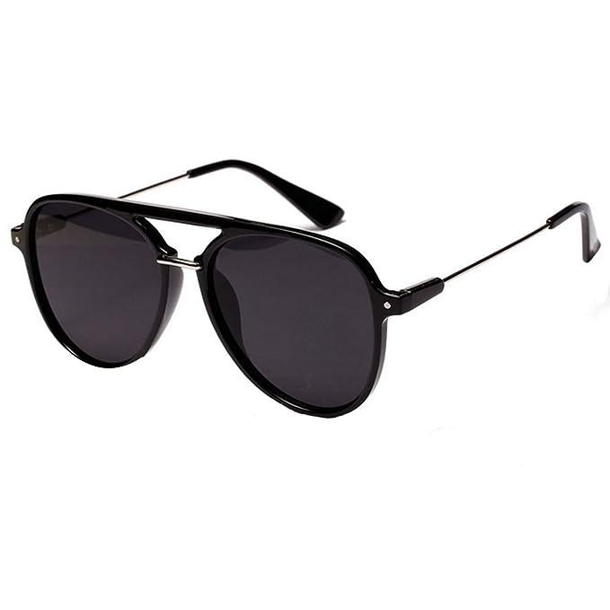 Amazon.com: Danse Jupe - Gafas de sol de metal con lentes de ...