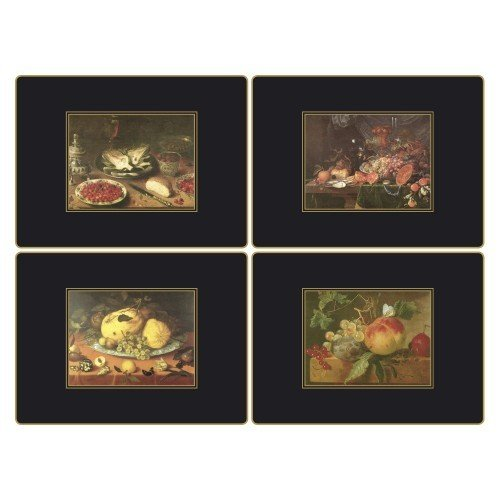 Lady Clare Placemats - 17th Century Still Life - Set of 4 Continental Mats