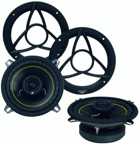 Coaxial Speakers 165mm 4-Ohm Kicker DSC670 6.75-Inch Pair