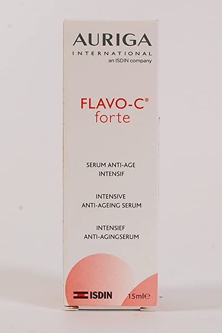 Flavo C Forte 15 ml Pure Active vitamina C 15% Ascorbic Acid Serum con Ginkgo