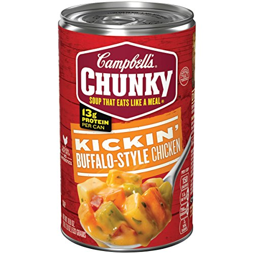 Campbell's Chunky Soup, Kickin' Buffalo-Style Chicken, 18.8 Ounce (Packaging May Vary) - Kickin Chicken