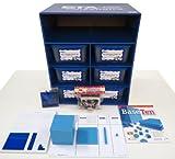 ETA hand2mind Blue Plastic Base Ten Blocks Math Lab