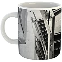 Westlake Art - Staircase Stairway - 15oz Coffee Cup Mug - Modern Picture Photography Artwork Home Office Birthday Gift - 15 Ounce
