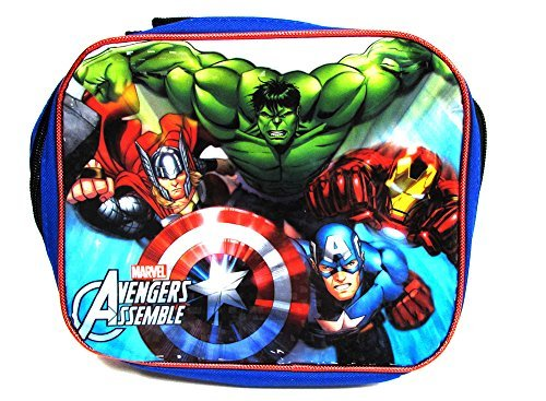 Collapsible Top Black Hat Adult (Marvel Avengers Lunch Collapsible Full Lunch Box)