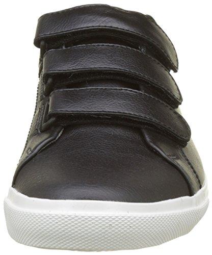 Woods Velcro Black Noir Hombre Zapatillas Levi'S Negro para Regular q5WUwCURdx
