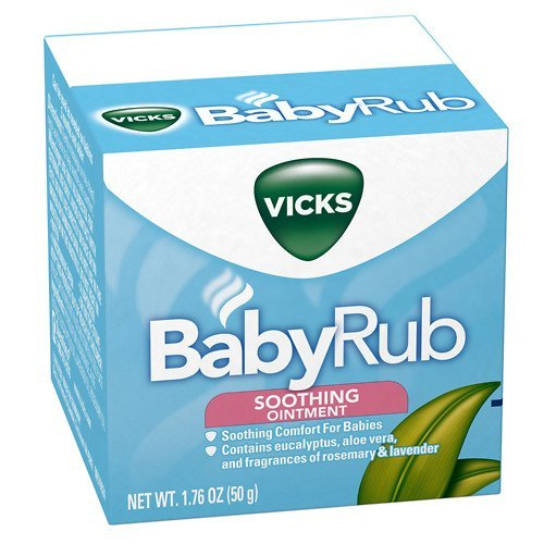 Vicks BabyRub Soothing Ointment 1.76 oz pack of 2 by Vicks