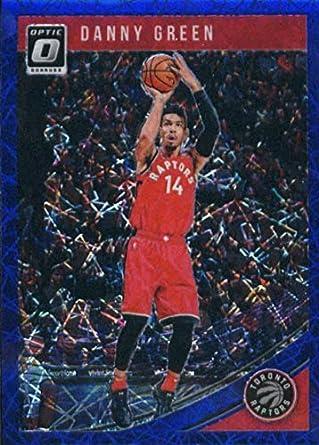 529687fa856c 2018-19 Donruss Optic Blue Velocity  111 Danny Green Toronto Raptors  Basketball Card