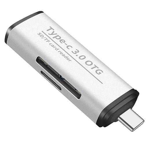 USB Tipo C Lector De Tarjetas De Memoria SD TF De Alta ...