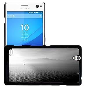 Just Phone Cases Etui Housse Coque de Protection Cover Rigide pour // M00421713 Velero océano abierto Mar // Sony Xperia C4 E5303 E5306