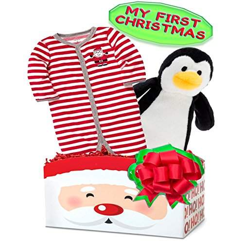 Baby's First Christmas Gift Basket, Size: 3 month