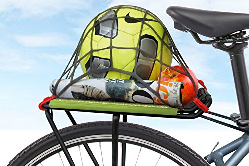 Delta Cycle Bike Expandable Storage Weather Proof Net Holder with Hooks