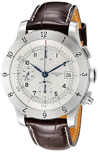 Longines Men's L27414732 Weems Analog Display Swiss Automatic Brown Watch