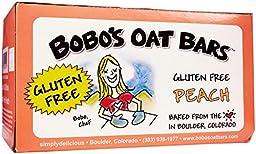 Bobo\'s Oat Bars Peach - 3 oz - 12 Pack