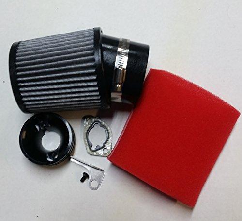 HDM GX160 GX200 Clone Honda Go Kart Racing Air filter Adapter kit & foam prefilter