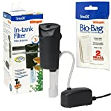 Whisper 3i Internal Filter and 2-Pack of Bio Bag Filter Cartridge Refills