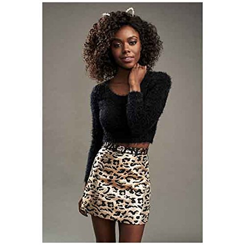 Mccoy Photo - Riverdale Ashleigh Murray as Josie McCoy Standing Petitely One Hand at Neck Smiling 8 x 10 Inch Photo