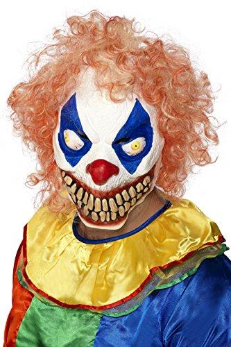 Smiffys Men's Evil Clown Mask ()