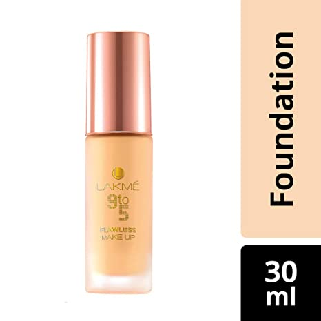 Buy Lakme 9 to 5 Flawless Makeup Foundation, Marble, 30ml Online at Low Prices in India - Amazon.in