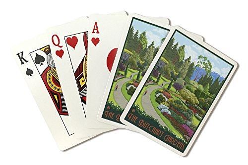(Brentwood Bay, Canada - Butchart Gardens (Playing Card Deck - 52 Card Poker Size with Jokers))