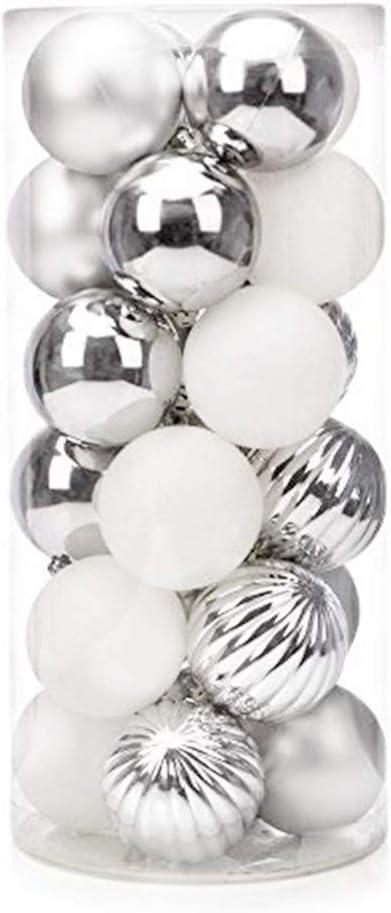 RUSTIC METALLIC  BALL 60 mm silver