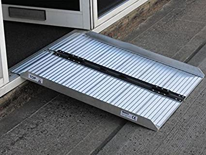 The Workplace Depot Metro Folding Portable Access Ramp for Wheelchairs or Scooters 600mm