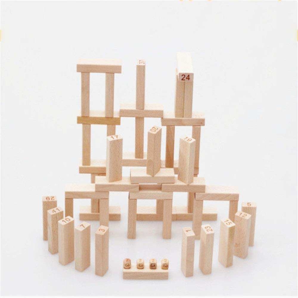 ZnMig Children 3-12 Years Old Stacked High Draw Music Puzzle Building Blocks Children's Toys Early Education Puzzle Building Blocks Toys (Color : Multi-Colored, Size : One Size)