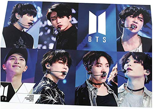 BTS Bangtan Boys - 12 PHOTO POSTERS(16.5 x 11.7 inches) + 1 STICKER + 5 Photos(4 x 3 inches) by BigHit Entertainment