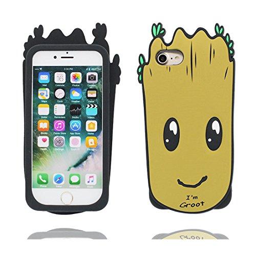 iPhone 6S Custodia, iPhone 6 Copertura, Carina TPU Cartoon 3D Cover ( Cartoon Albero ) Protezione perfetta - Bambino Sweet, Case per iPhone 6s