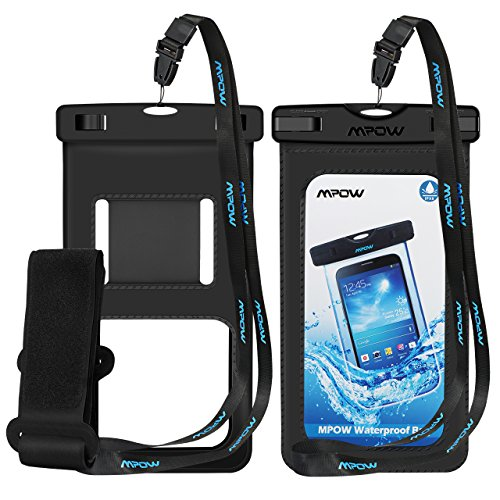 Mpow  Waterproof Case with Armband, IPX8 Universal Cell Phon