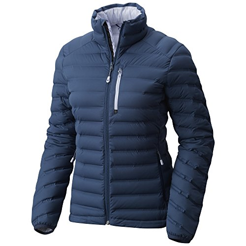 Mountain Hardwear Women's StretchDown Jacket, Zinc, XL