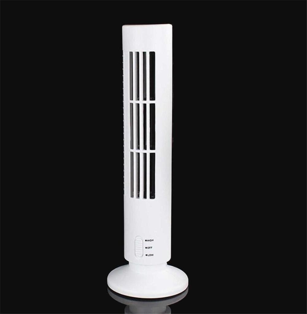 A DHXY FAN USB tower fan mini tower fan strong mute fan Easy to handle and assemble