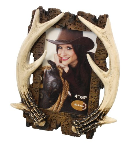 Rustic Deer Antler Picture Frame 4