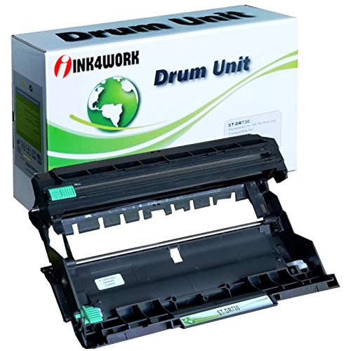 INK4WORK DR730 Compatible Drum Unit Replacement for Brother DR-730 DR760 for use with Brother HL-L2395DW HL-L2350dw HL-L2370dw MFC-L2710dw DCP-L2550dw MFC-L2750dw HL2390DW Printers