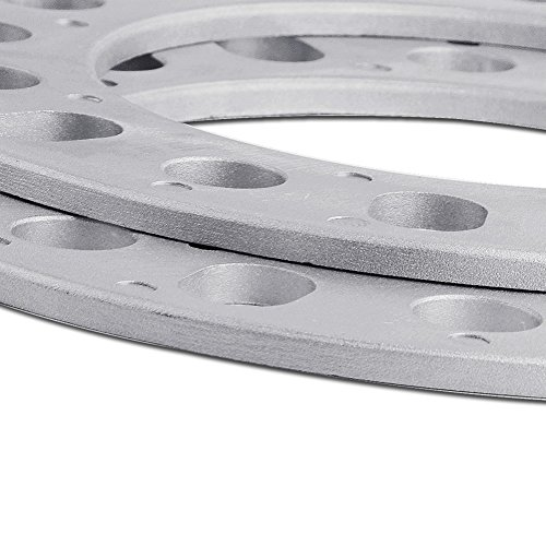 YITAMOTOR 4pcs 1/4'' 8 Lug Wheel Spacers Universal Fit All 8x170 and 8x6.5 8x165.1 Wheel Spacers Adapters by YITAMOTOR (Image #5)