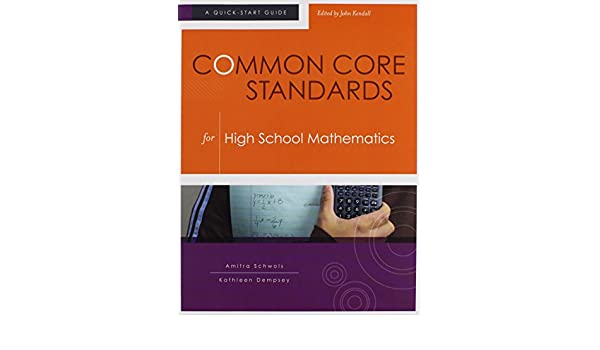 Amazon.com: Common Core Standards for High School Mathematics: A ...
