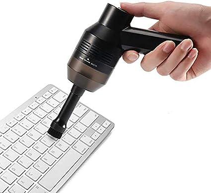 BESTNIFY Aspirador Teclado Mini Limpiador de Teclado Mano Aspirador Portátil de Alta Aspiración para Portátil Ordenador PC Escritorio Coche TV Muebles ...