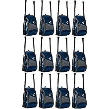 EASTON GAME READY Bat & Equipment Backpack Bag | Baseball Softball | 2020 | Navy | 2 Bat Pockets | Vented Main Compartment | Vented Shoe Pocket | Zippered Valuables Pocket | Fence Hook