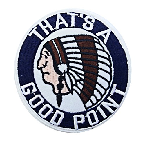 R2K Indian Headdress Round Patches Iron on Patch / Embroidered Patch This Appliques Are Great for T-shirt, Hat, Jean ,Jacket, Backpacks.