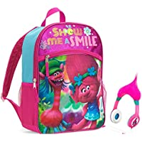 Dreamworks Trolls 16 Backpack with Adjustable Headphones - Kids