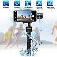 Waterproof Handheld Gimbal Camera Stabilizer, Feiyu Tech Upgraded Splash Waterproof Version SPG 360 Degree Bluetooth Face Tracking 3-Axis for Iphone Smart Phone, Gopro Hero 5, Sports Action Camera