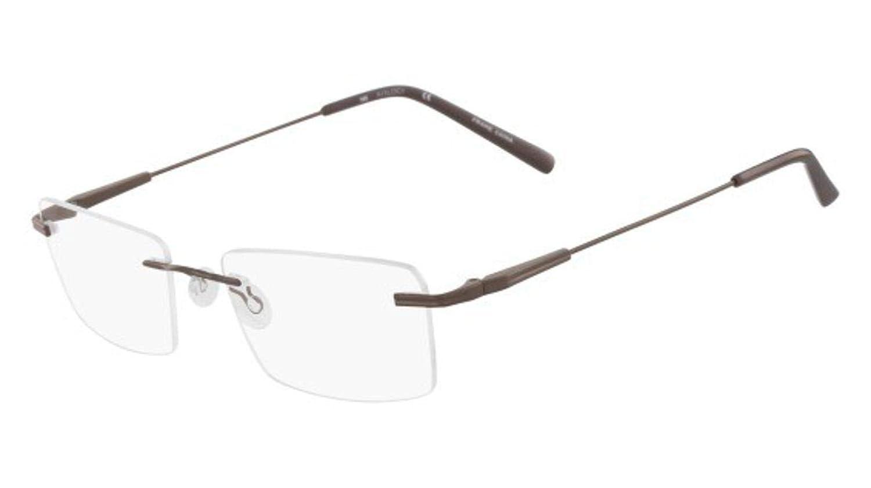 Eyeglasses MARCHON AIRLOCK AL CALIBER 210 BROWN