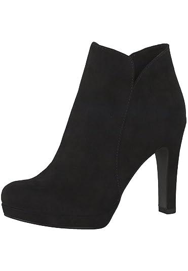 Tamaris Damen Ankle Boots Schwarz