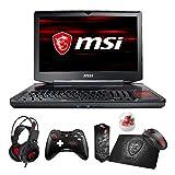 "MSI GT83 TITAN-027 Enthusiast (i7-8850H, 64GB RAM, 4TB NVMe SSD + 1TB HDD, NVIDIA GTX 1080 SLI 16GB, 18.4"" Full HD, Windows 10) VR Ready Gaming Notebook"