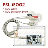 [PhysioLab] PSL-iEOG2 / Small 2CH EOG Sensor Module with EOG & EOG Direction Event Output / Isolation Safety / Available in Arduino
