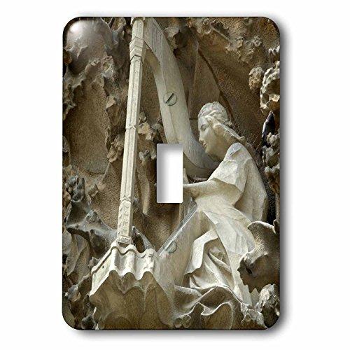 3dRose lsp_82564_1 Spain, Barcelona, La Sagrada Familia Eu27 Cmi0092 Cindy Miller Hopkins Single Toggle Switch by 3dRose