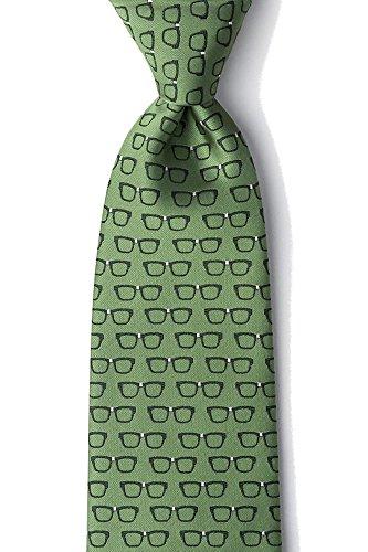 Men's Eye Glasses Four Eyes Optometrist Doctor Tie Necktie - Wild Thing Glasses
