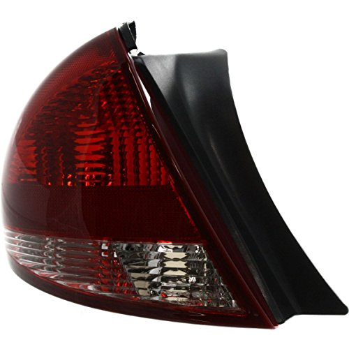 Diften 166-C1352-X01 - New Tail Light Taillight Taillamp Brakelight Lamp Driver Left Side LH Hand Ford