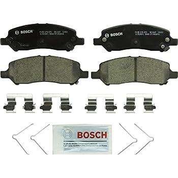 Bosch BC1647 QuietCast Premium Ceramic Disc Brake Pad Set For 2013-2016 Dodge Dart; Rear